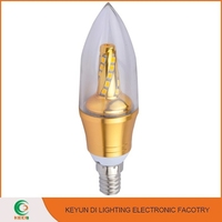 China Supplier Electric Candle Light 5W E27 Candle bulb Light Led candle Light