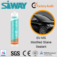 Chinese manufacturer strong adhesion MS waterproof sealant for car with high quality