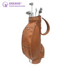 Leather Golf Bag Custom Golf Bag Fashion Leather Golf Bag Manufacturer