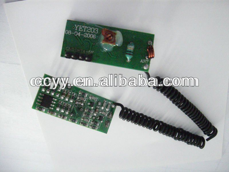 ask learning code 433mhz rf wireless receiver module