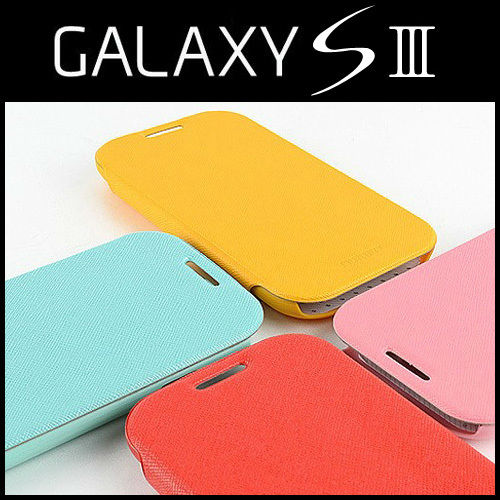 Samsung Galaxy S3 GT-I9300 I747 T999 Mercury Fancy Flip PU Leather Wallet Phone Case