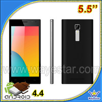 Telefonos celulares chinos 5.5inch android4.4 quad core QHD screen 1.3GHz smartphone