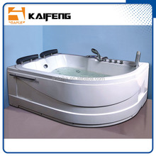1.8m couple bathing large oval angle bathtub computer controller water recycle faucet stopper garden whirlpool massage bath tub