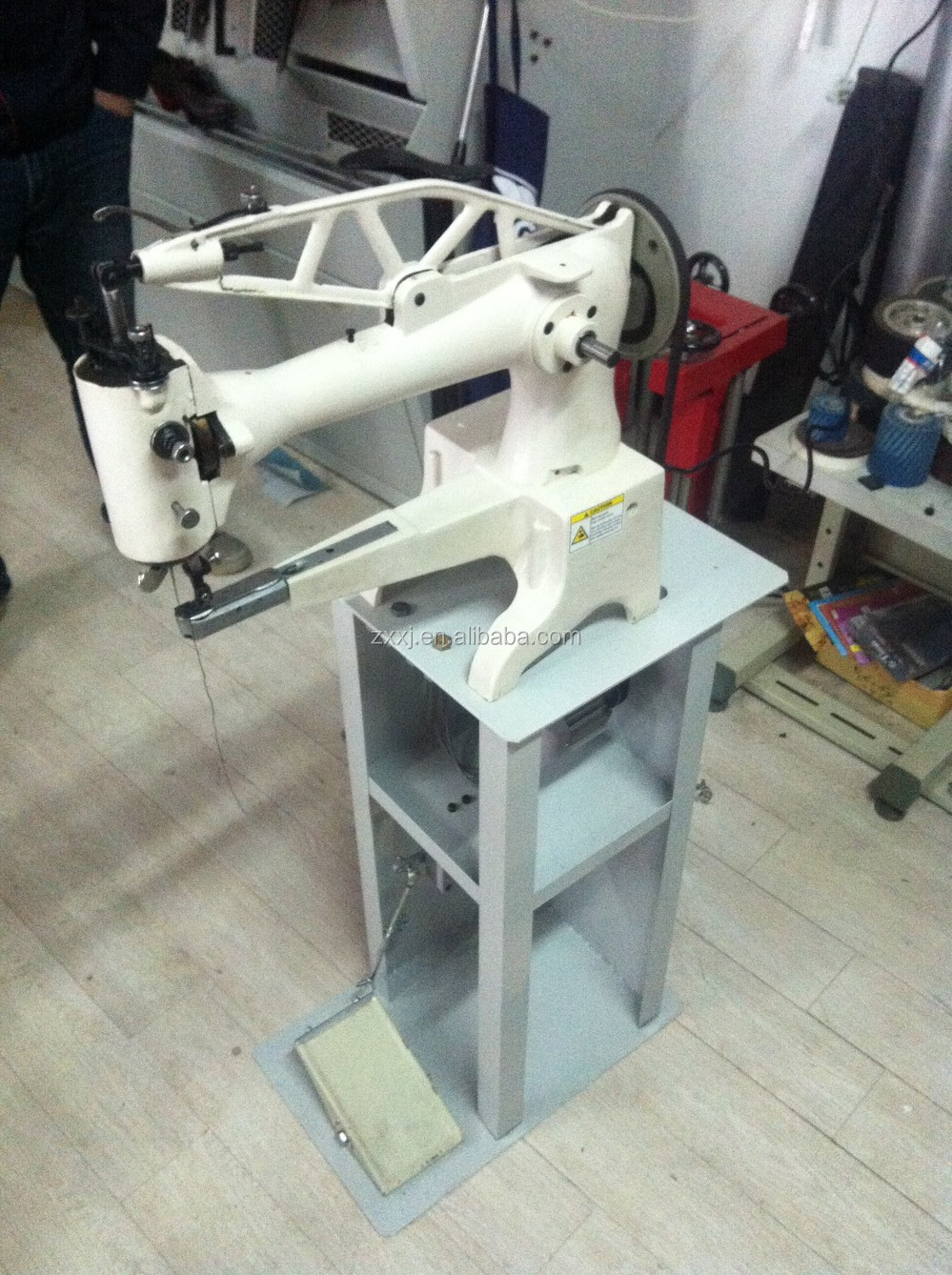 leather patching machine