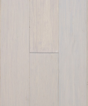 Stained Color Milk White Strand Woven Bamboo Flooring