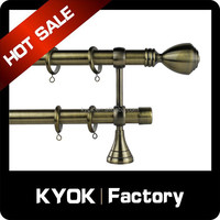 Bathroom supplies shower curtain rod retractable pole perforated stainless steel retractable rods
