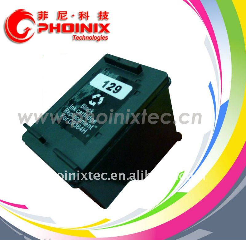 Remanufactured Ink Cartridge for HP 129 , C9364H