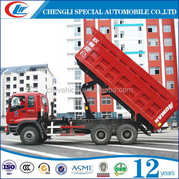 FOTON 6X4 Heavy Loading Tipper Truck 30T Mining Auto-Unloading Vehicle 30MT Dump Truck For Sale