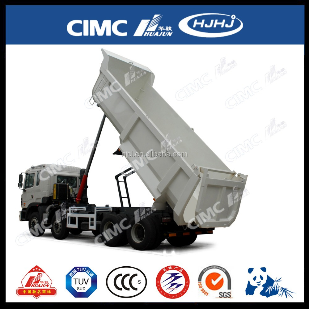 Cimc 8*4 U-Type HOWO Dump Truck, tipper truck for sale
