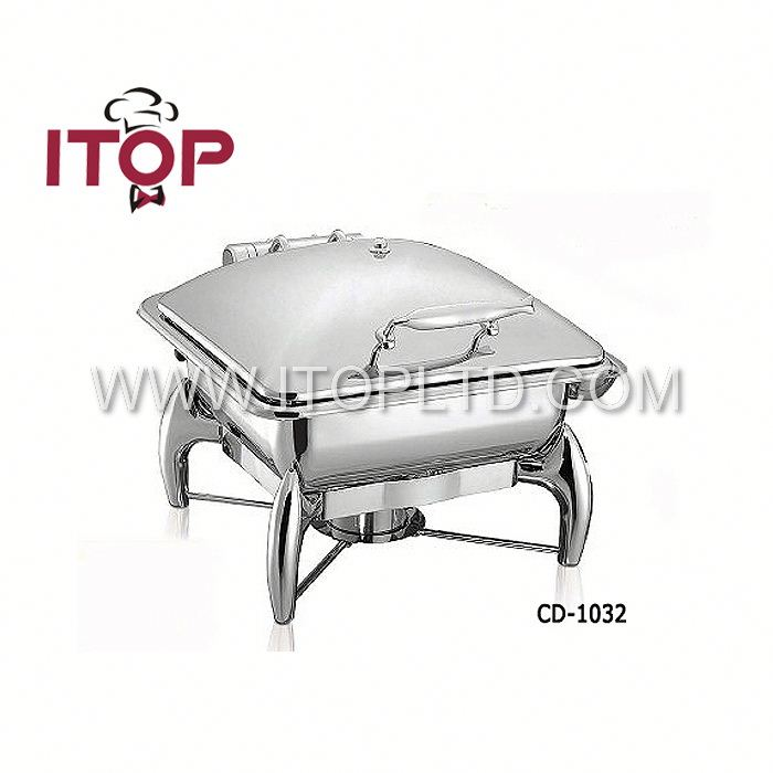 stainless steel catering equipment chafing dishes