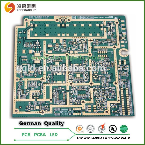 1 2 Density Board ~ High density multilayer pcb board for rogers material