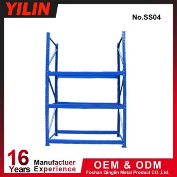 4 layers heavy duty metal warehouse rack