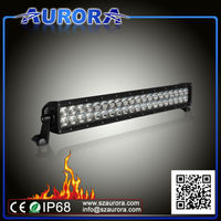 Hotsell high quality AURORA 20inch light bar, qiye atv parts