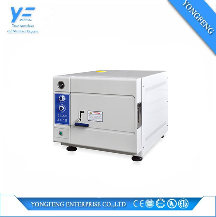 20L Portable Table Top Rapid Steam Autoclave Dental Cassette Sterilizer