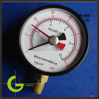 40mm to 150mm dry pressure gage