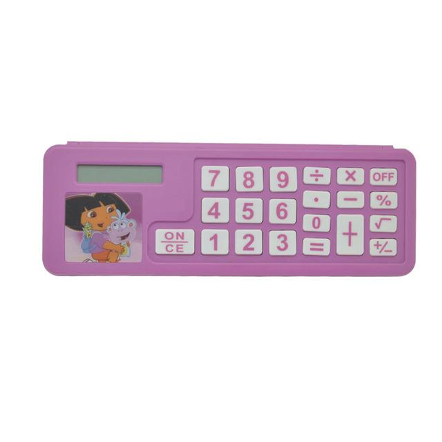Hot selling New Pencil Case with Calculator, pencil box calculator