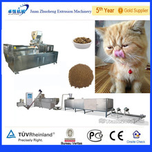 Pellet Floating Fish Food Machinery / Pet Food Production Line