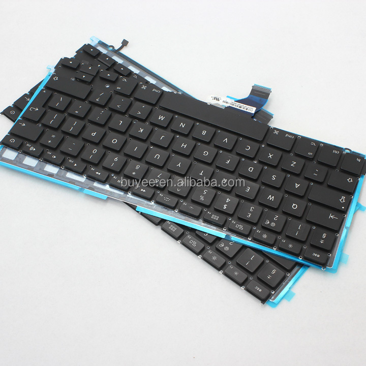 Replacement Keyboard with USB Port For MacBook Retina Pro A1425 UK Laptop Layout