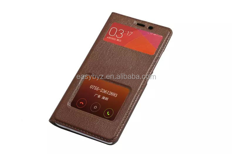 "New 5.5"" phone case for Redmi Note 2 book style flip phone cover for Hongmi Note 2 Leather cell phone case for Xiaomi"