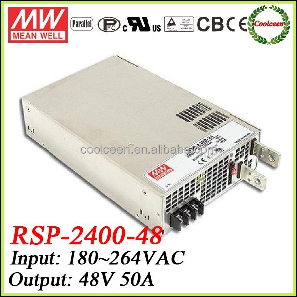 Meanwell RSP-2400-48 2400w power supply 48v 50a