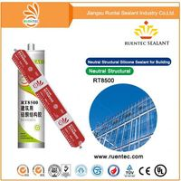 Silicone main raw material adhesive used for building material , GP silicone sealant for glass marble and tile