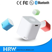 2017 Mini Wireless Mobile Phone Accessories Cube Speaker with selfie shuter/Microphone