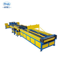 Hvac duct making machine manufacture auto line 5, air square tube duct making machine