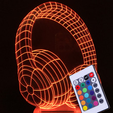 ZOGIFT Hot Selling Christmas 3D Lamp Gifts Laser Craved Kids Table Light 3D Illusion Led Lamp