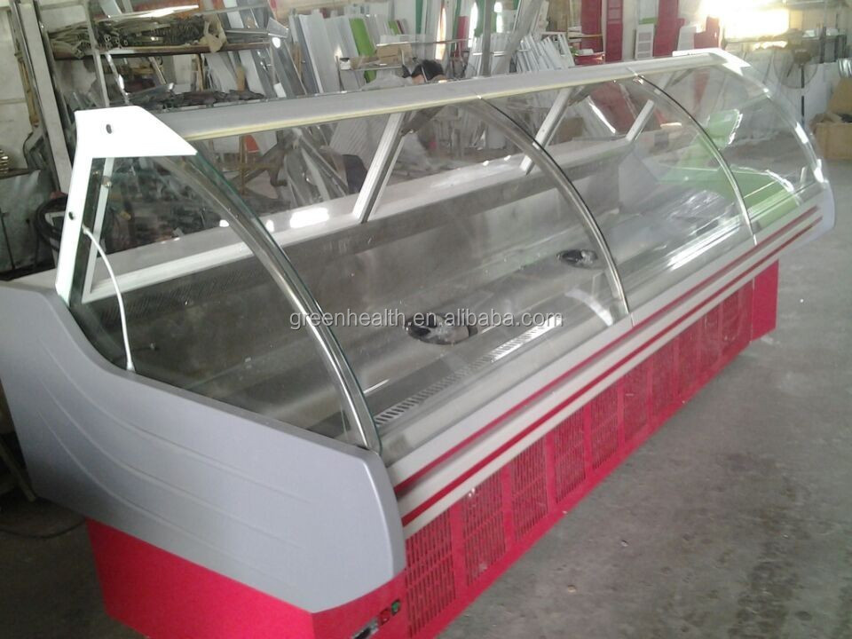 Deli counter display Aspera/Panasonic compressor,deli refrigeration equipment