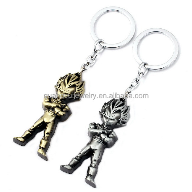 Dragon ball super Isaiah zinc alloy metal key ring keychain