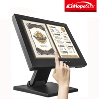 Professional capacitive 10 inch lcd open frame touch screen monitor with CE certificate