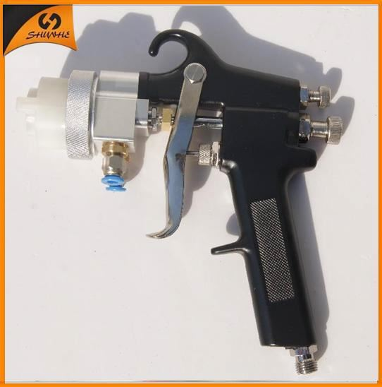 2015 New Type Best Double Nozzle Spray Gun Interior Paint Sprayer Road Marking Paint Machine