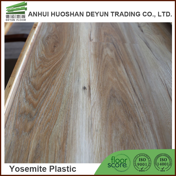 Commercial Wood PVC Plank Loose Lay Vinyl Flooring
