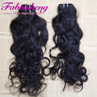 FBS factory price human hair weave natural wave Indian hair distributors canada