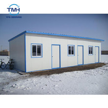 Cost-Effective Easily Assembled Prefabricated Modular Home Prefab 100m2 House Plans