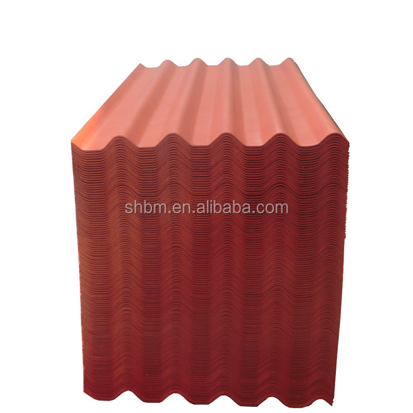 High Strength Non-asbestos Painted Fiber Cement Corrugated Roofing Sheet, Fiber Cement Roof Tile, Fiber Cement Roof Shingles