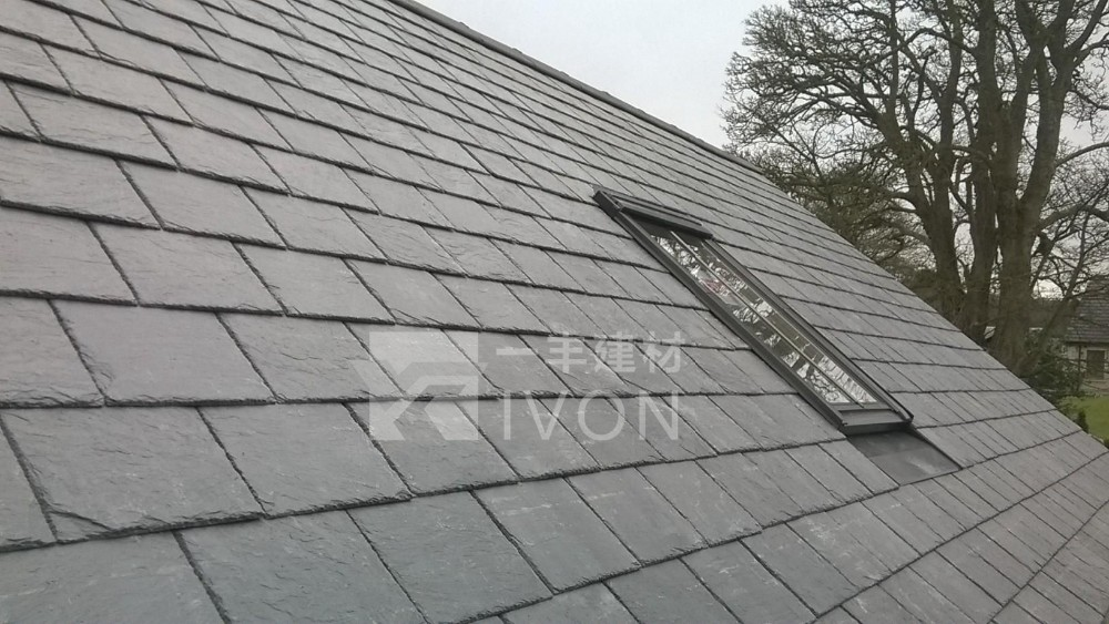 IVON slate roof tiles Small Scale slate French and stone chip roof tiles