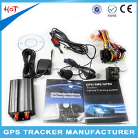 Vehicle fleet gps locator remote control gps tracker motorcycle bike gps tracking device tk103b