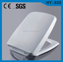 HY-025 plastic square toilet seat hinge toilet seats covers