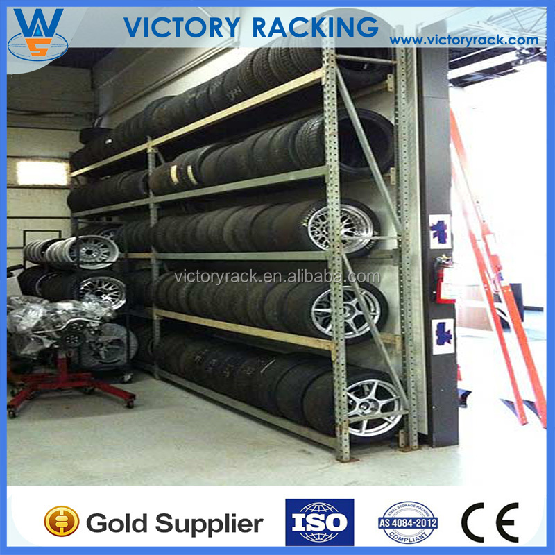 Heavy Duty Used Pallets Space Saving Storage Rack Warehouse Racking for Tyre