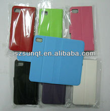 High Quality! Flip Leather Shell Cases for Blackberry Z10