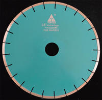 Diamond Red/Yellow/Blue Finishing marble cutting diamond saw blade/silent saw blade