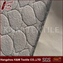 China supplier spun poly+tpu+jacquard fleece Fabric