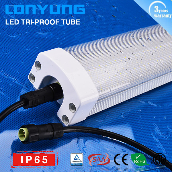 120-277VAC CE qualified 6000k 30w 0.6m outdoor led light tile