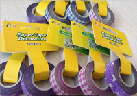 China japanese washi tape wholesale Decorative DIY rice paper tape colorful duct tape