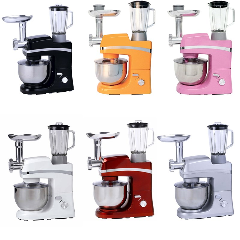 5L kitchen egg kitchen blender plastic electric mixer for pizza