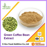 Factory Price 4:1 10:1 Green Coffee Bean Extract Powder Chlorogenic acid