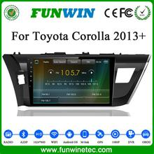 Funwin High Quality Pure Android 4.4 OS Car Gps Navigation System For Toyota Corolla 2010