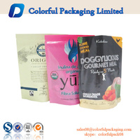 Logo printed promotion bag ziplock stand bag packaging for small item