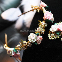 C72027A Latest Simple Design Elegant Pearls Hairband